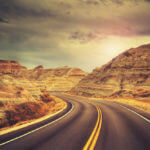 Visit Badlands National Park on your road trip through South Dakota