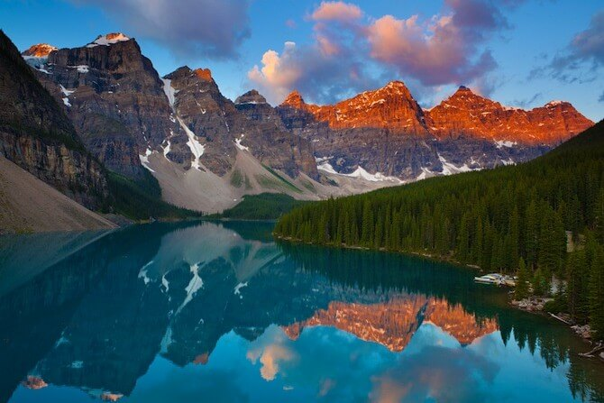 Banff National Park, Alberta, Canada - Lake Moraine