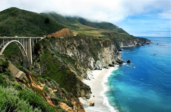 Visit California's coastal Big Sur to