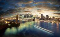 NYC, Brooklyn Bridge, Manhattan Skyline on an American Roadtrip