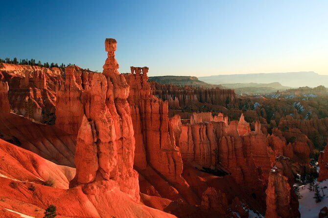 Bryce Canyon National Park, Utah, USA - Thor's Hammer