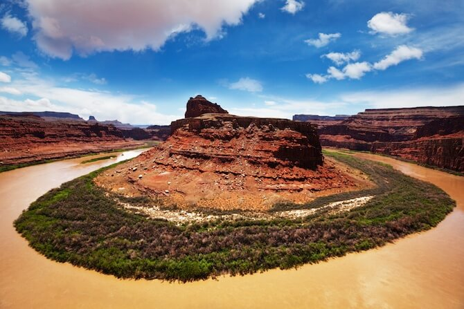 Canyonlands National Park, Utah, USA - Horseshoe Canyon