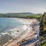 Beach, ingonish, Cape Breton coast