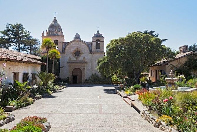 Carmel-by-the-Sea, California, USA - Carmel Mission