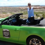 Corinne in her Mustang - 2048x798