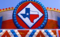 Dallas, Texas, USA - Texas fair sign