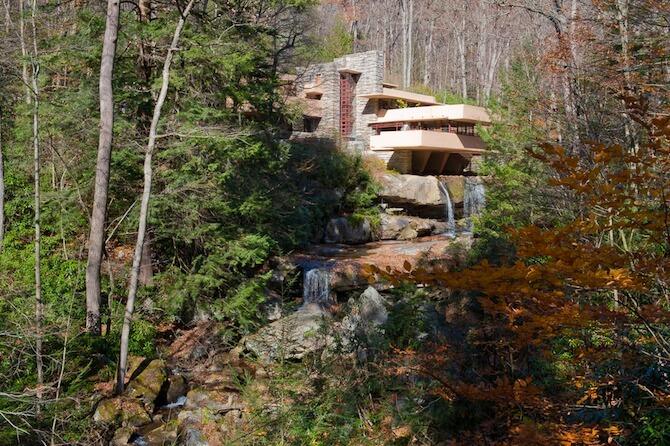 Fallingwater, Pennsylvania, USA - Fallingwater House