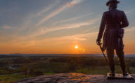 Gettysburg Pennsylvania USA Road Trip National Monument