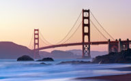Golden Gate Bridge, San Francisco, West Coast America
