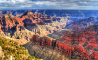 Bright colours of the Grand Canyon