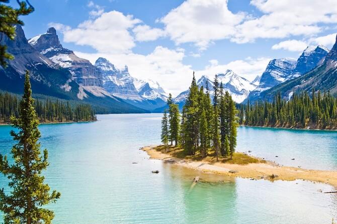 Jasper National Park, Alberta, Canada - Spirit Island