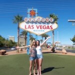 Kelly and Kim in Las Vegas
