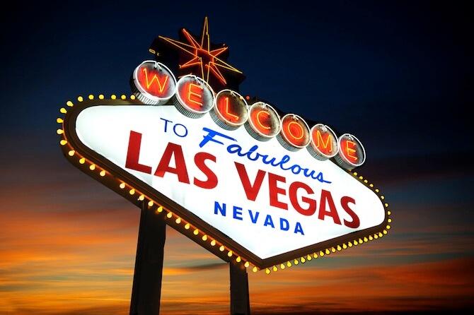 Las Vegas, Nevada, USA - Welcome to Las Vegas Sign