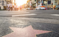 Walk of fame, Stars in Los Angeles on New Orleans Road Trips