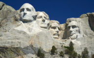 Mount Rushmore Monument, South Dakota, Northern Crossover USA