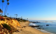 Orange County's - Alito Park Bluffs and Beach, Laguna Beach, California, USA