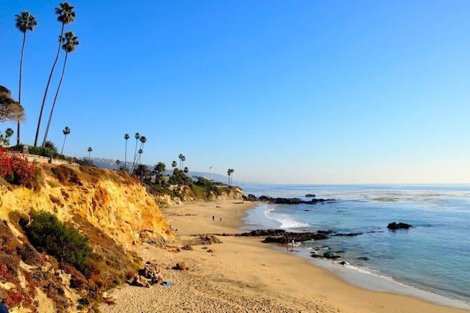 Orange County's - Alito Park Bluffs and Beach, Laguna Beach, California, USA