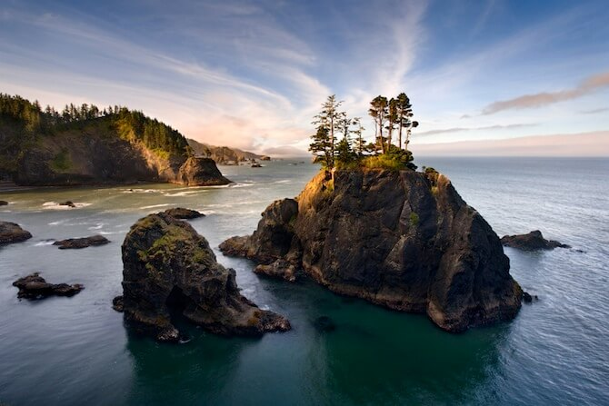 Oregon Coast, USA - Sea Stacks on the Oregon Coast