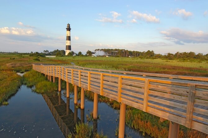 Outer Banks, North Carolina, USA - Lighthouse on the Outer Banks