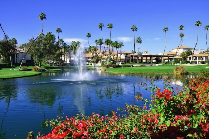Palm Springs, California, USA - Golf Course