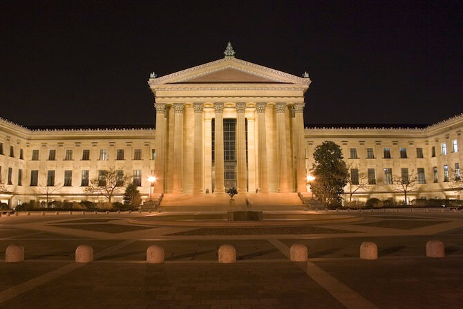 Philadelphia, Pennsylvania, USA - Museum of Art
