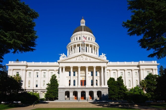 Sacramento, California, USA - Capitol Building