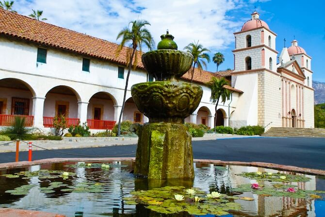 Santa Barbara California Usa Church