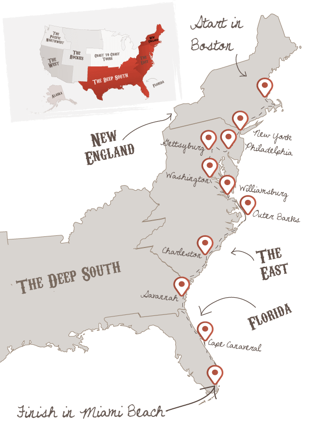 Ultimate East Coast The American Road Trip Company