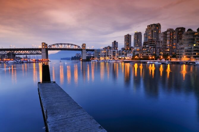 Vancouver, British Columbia - Burbridge Bridge