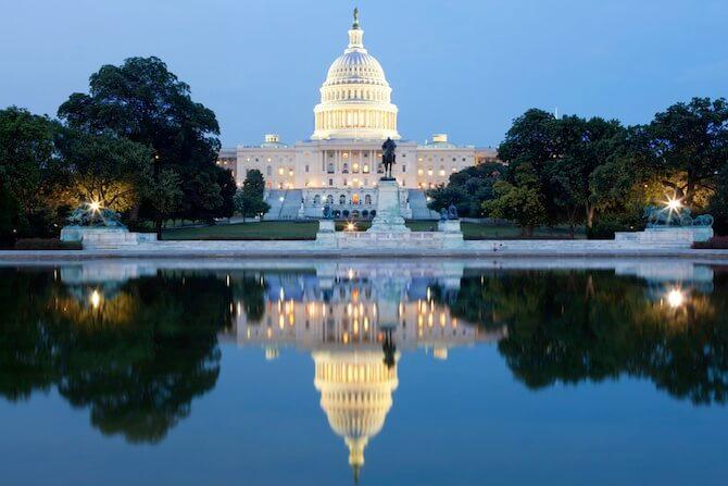 Washington DC, USA - Capitol Building