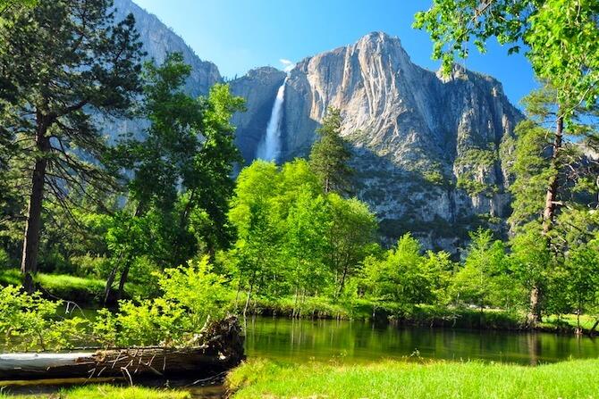 Yosemite National Park - Water Fall